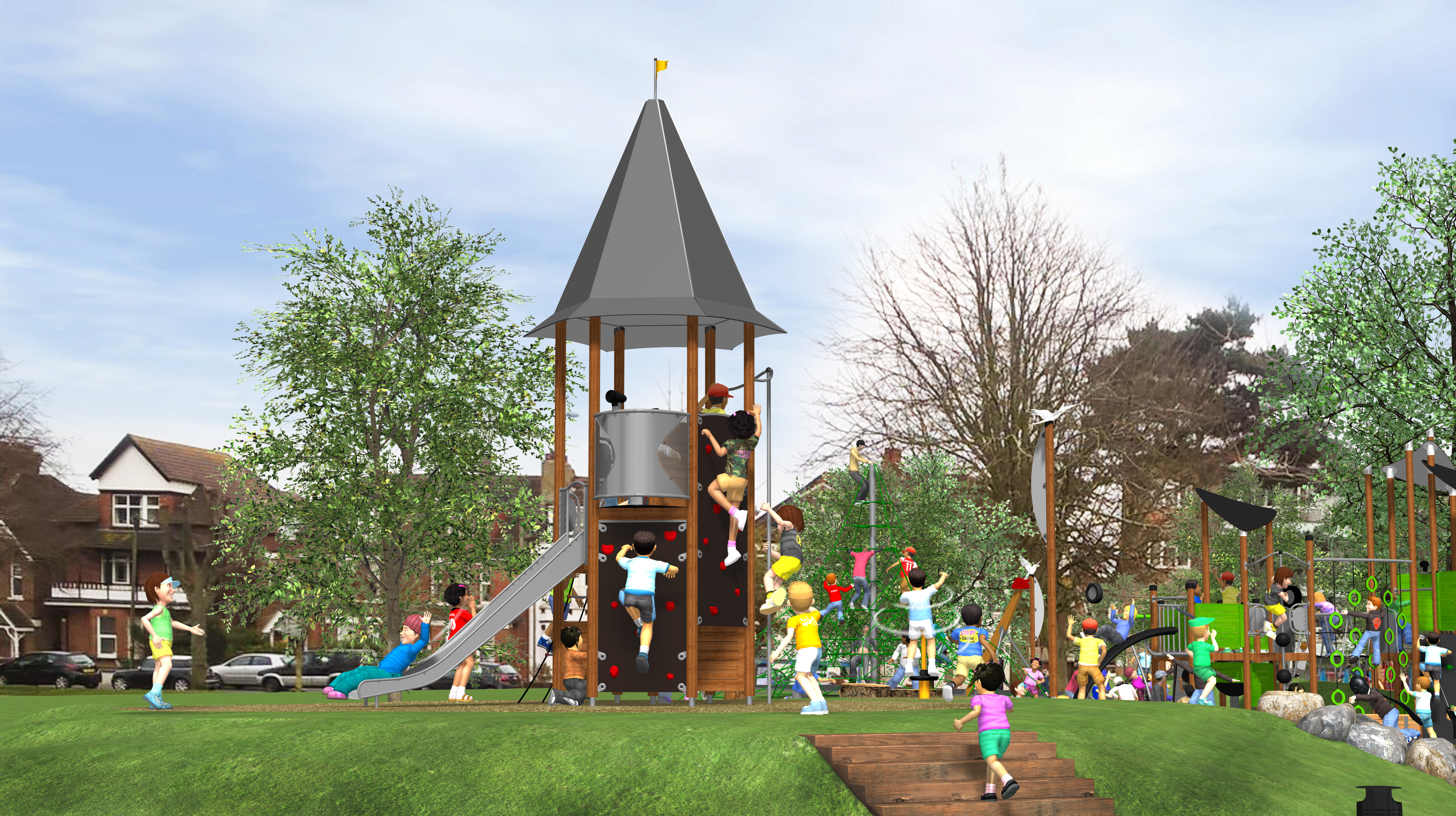 Other Hags Uk Playground Equipment Manufacturer In The Sand And Water Play Recreational Playpower
