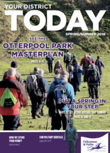 Your District Today magazine front cover