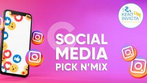 Pick N' Mix of Social Media Marketing